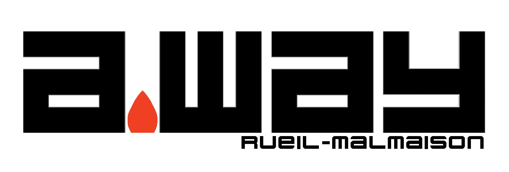 logo a.way Rueil Noir