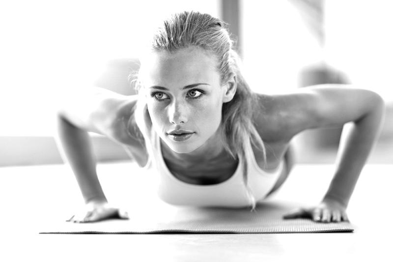 Faire des push-ups